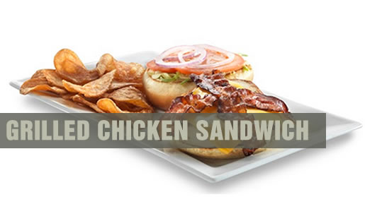 Shooters Grilled Chicken Sandwich