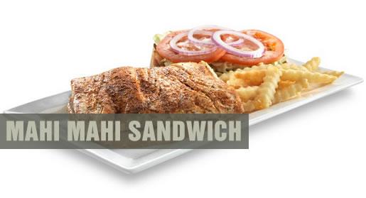 Shooters Mahi Mahi Sandwich