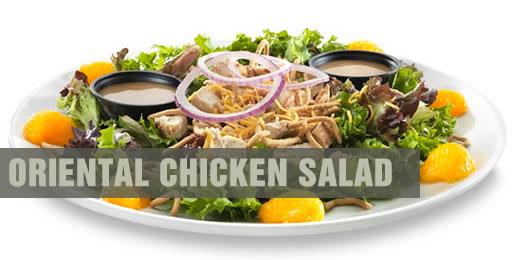 Shooters Oriental Chicken Salad