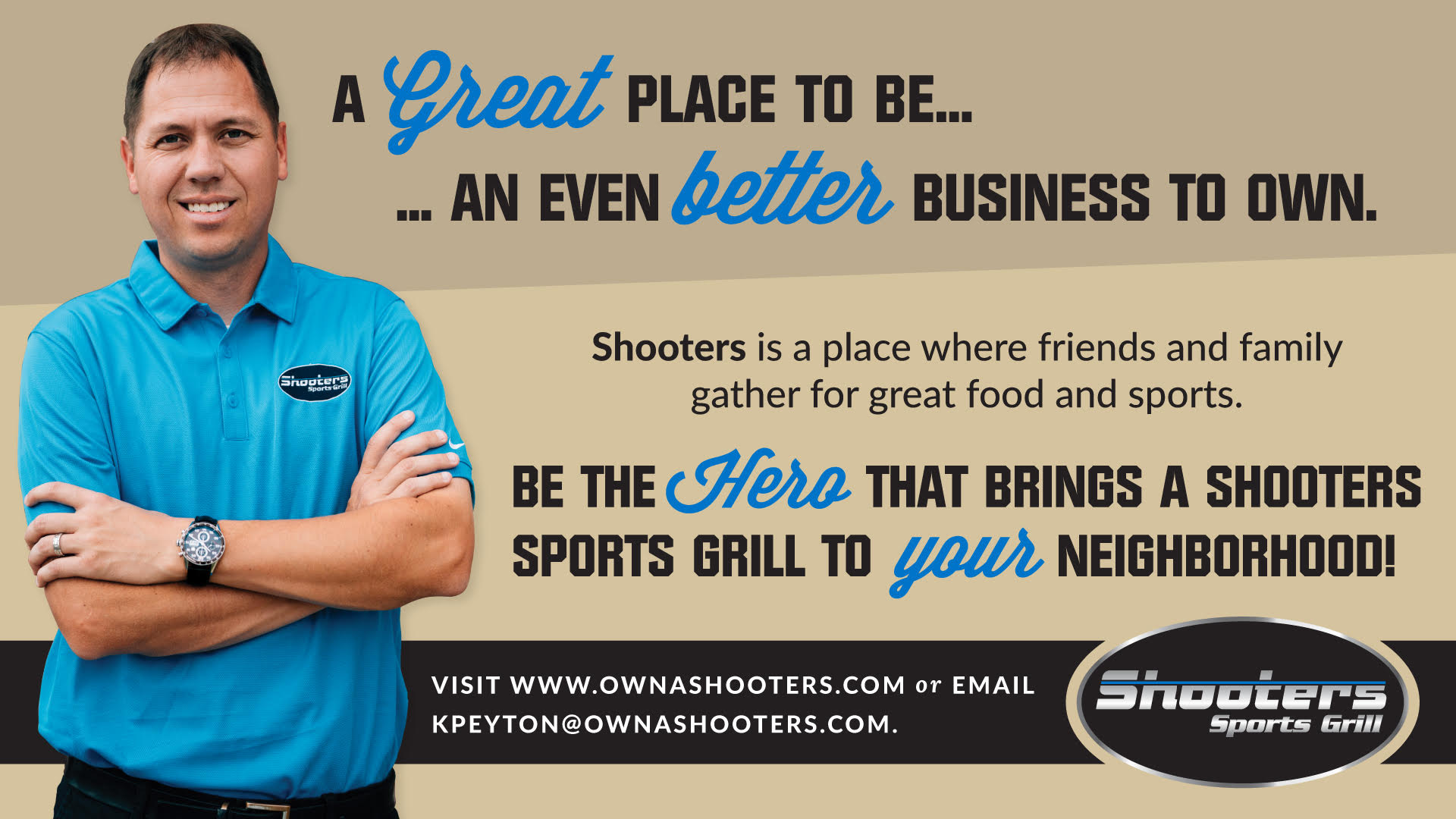 Own a Shooters Sports Grill